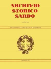 Archivio Storico Sardo - Volume n. XLVII - Deputazione di Storia Patria per la Sardegna