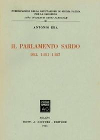 IL PARLAMENTO SARDO - ANTONIO ERA