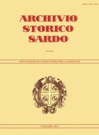 Archivio Storico Sardo - Volume n. L - Deputazione di Storia Patria per la Sardegna